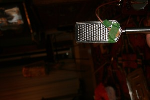 Amplifying a Cheese Grater